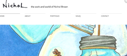 Nichol Brown website